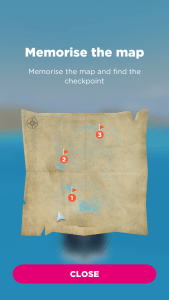 Sea Hero Quest gaming for good dementia damaged map
