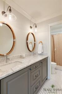 Bathroom Mirrors Atlanta : Excellent Brown Bathroom