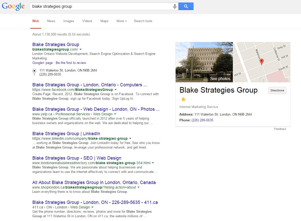 online-profile | Blake Strategies Group
