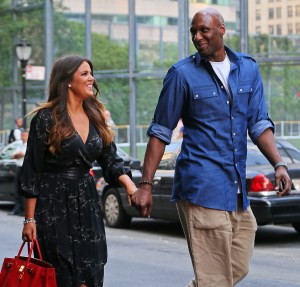 Khloe Kardashian and Lamar Odom are all smiles after attending Lamar's daughter Destiny Odom's intermediate school graduation in NYC