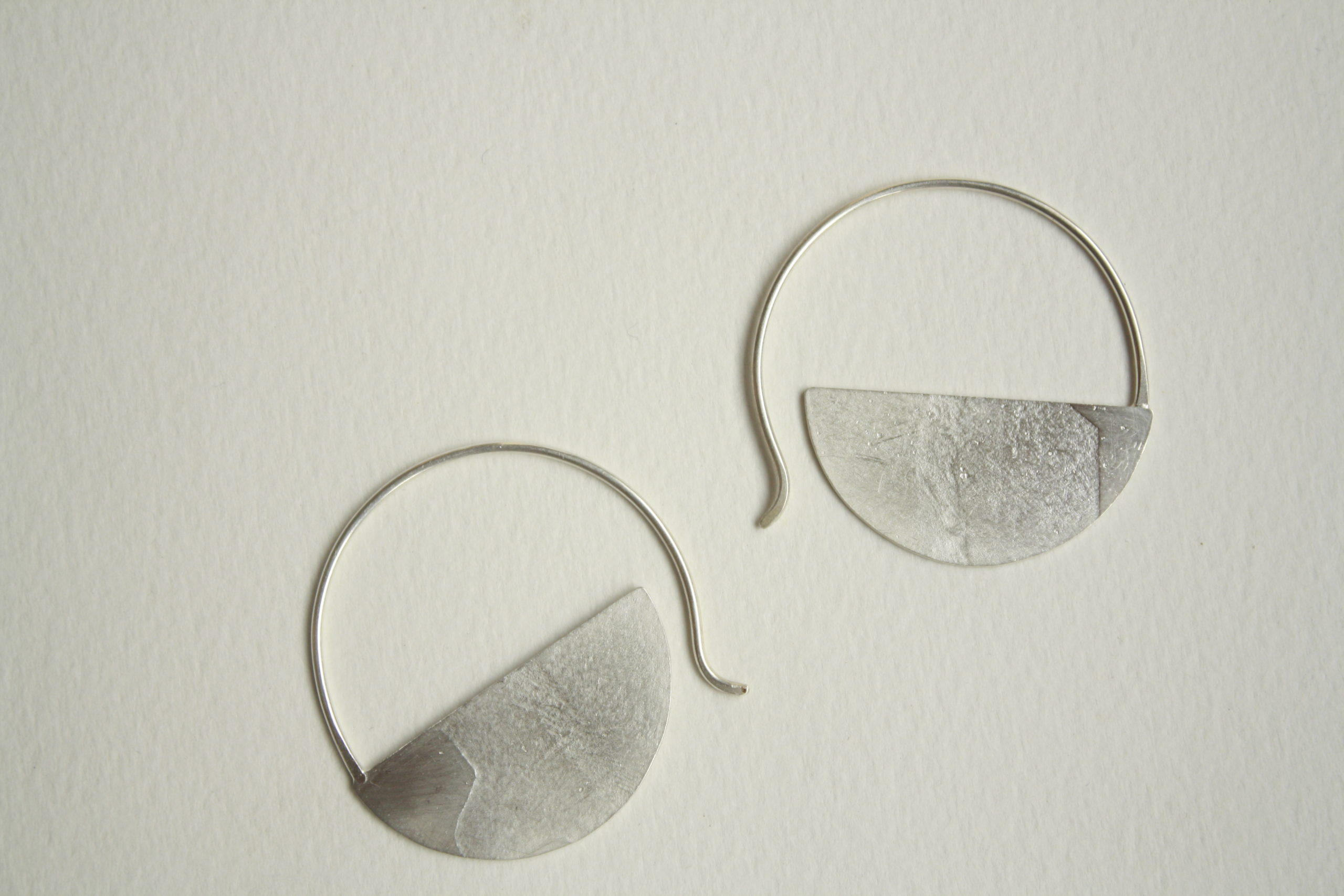 Criollas de plata con textura