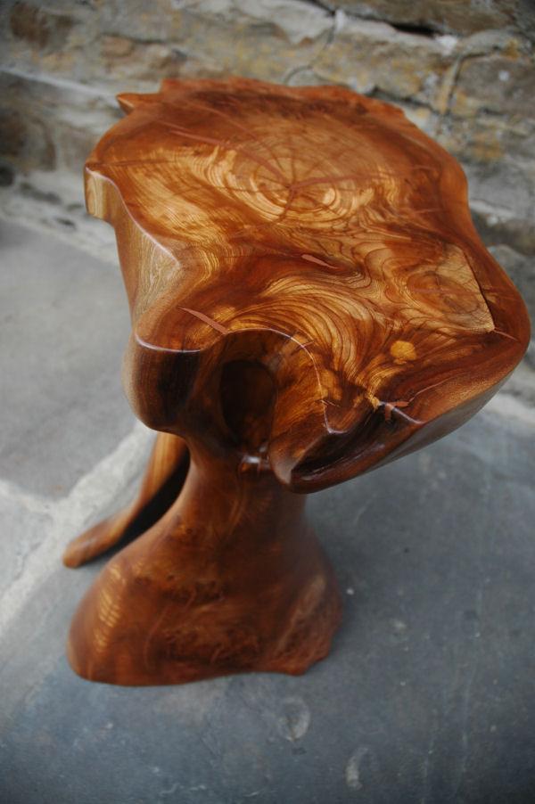 Copper Epoxy Inlay