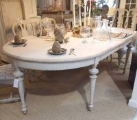 Large 19C Swedish Painted Dining Table - Stock - Blanchard ...