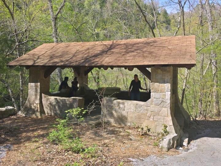 Blanchard Springs Pavillion