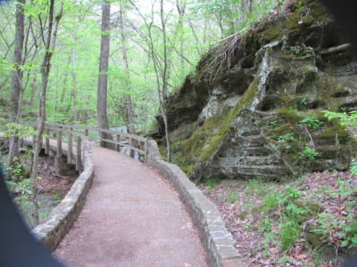 Blanchard Springs Entrance Walkway