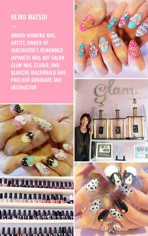 Keiko Matsui Brings The Bling To Vancouver S Nail Art Scene