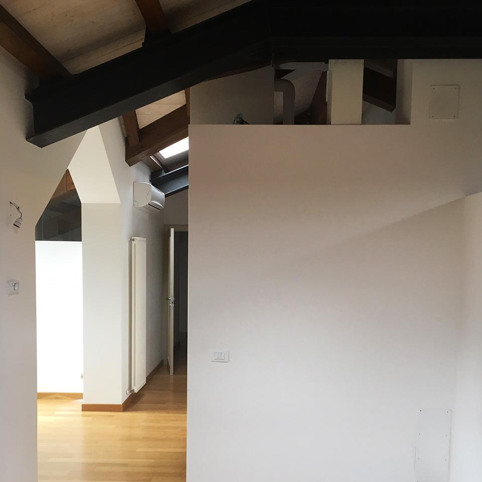 ristrutturazione interni casa pareti cartongesso