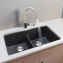 Large Kitchen Sink Aid Mixers Blanco Diamond™ Equal Double Bowl With Low-divide  