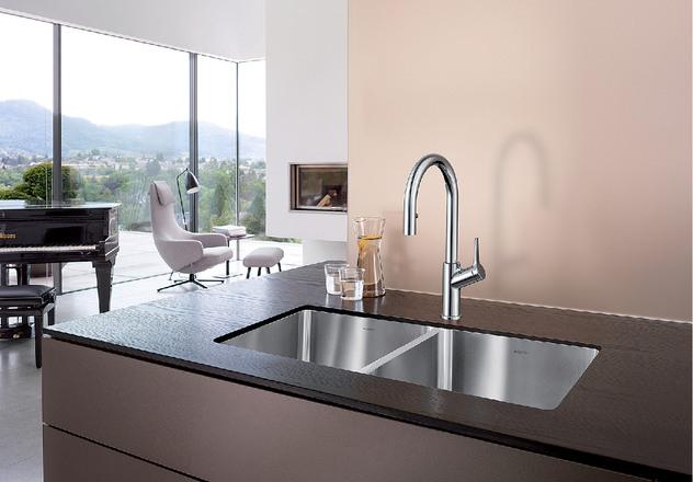 kitchen faucet with handspray wall mount sprayer blanco urbena |