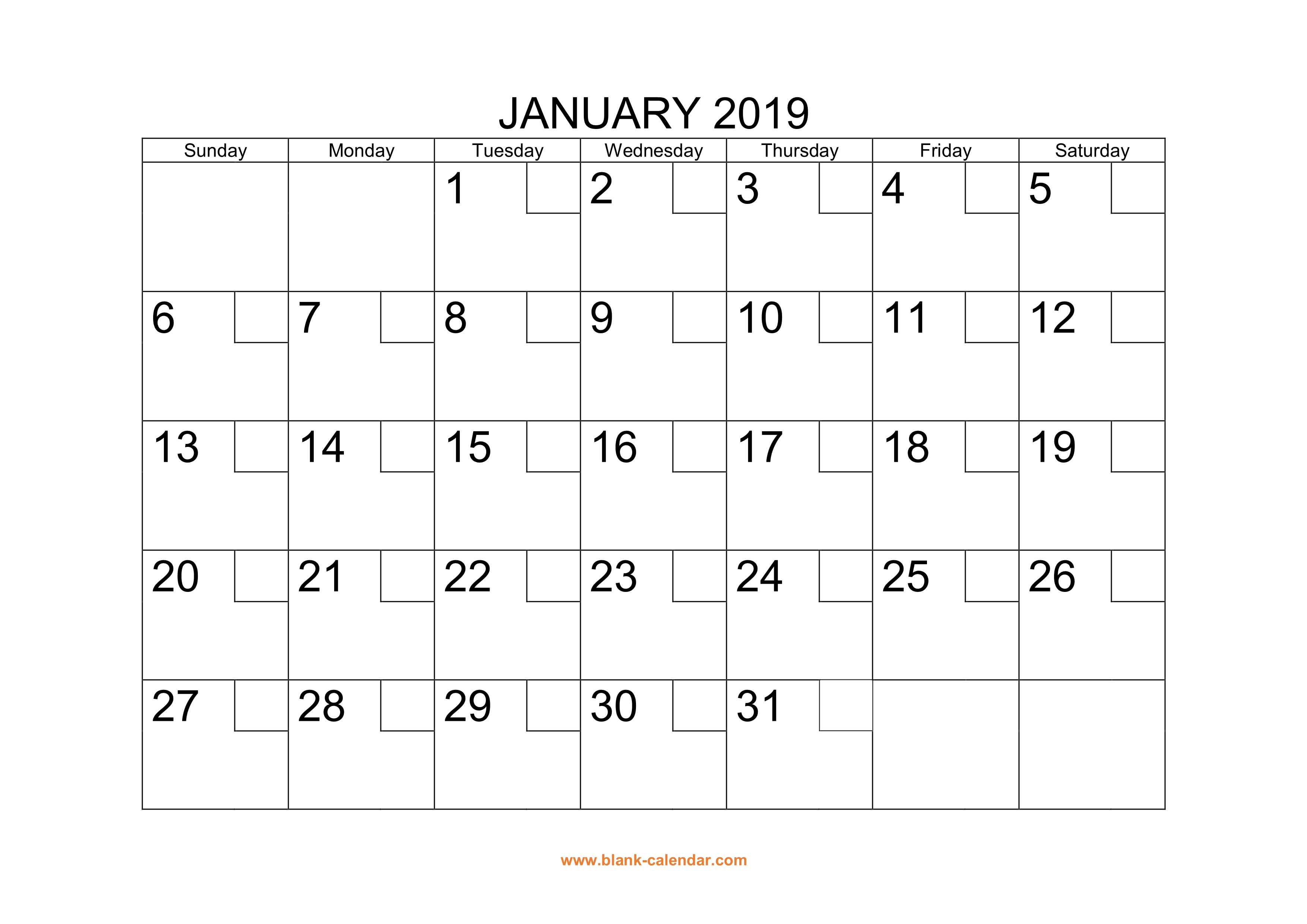 free download printable calendar