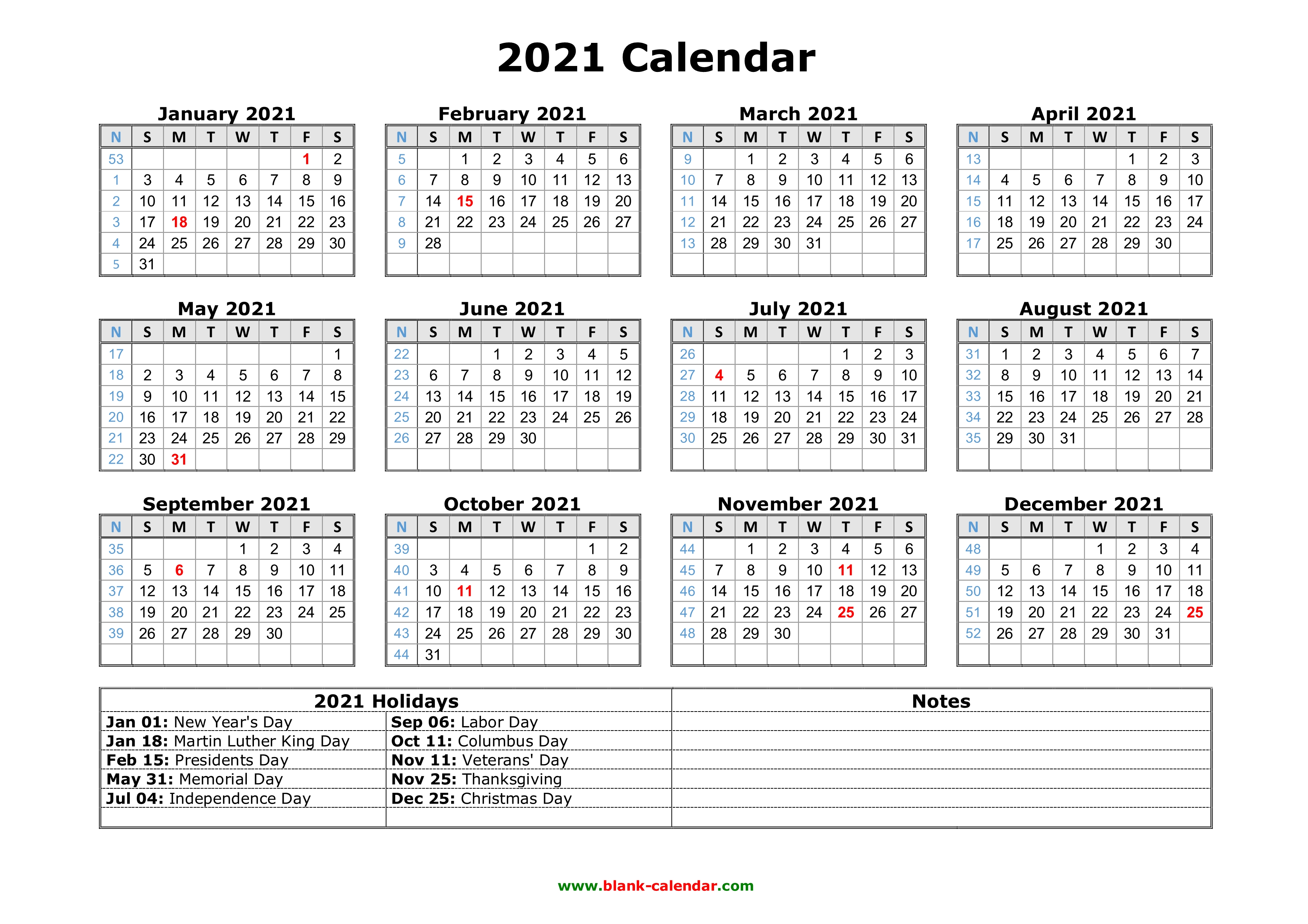 Whether you prefer the convenience of an electric can opener or you're perfectly fine with the simplicity of manual models, a can opener is an indispensable kitchen tool you can't live without unless you plan to never eat canned foods. Free Download Printable Calendar 2021 with US Federal ...