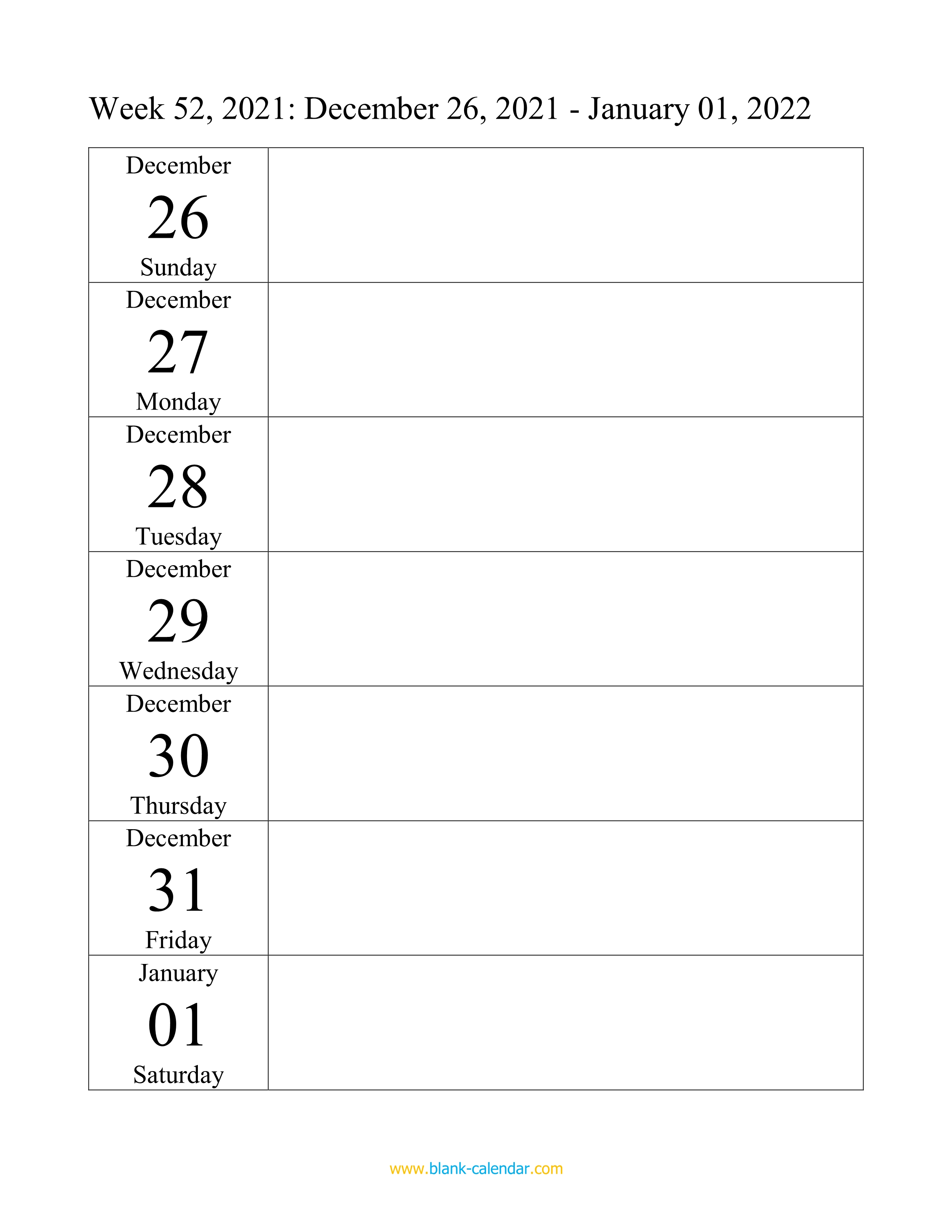 Download full of 12 months of free printable 2022 monthly calendar with holidays and observances. Weekly Calendar 2022 (WORD, EXCEL, PDF)