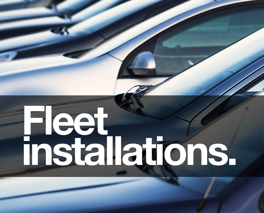 Vehicle installation services