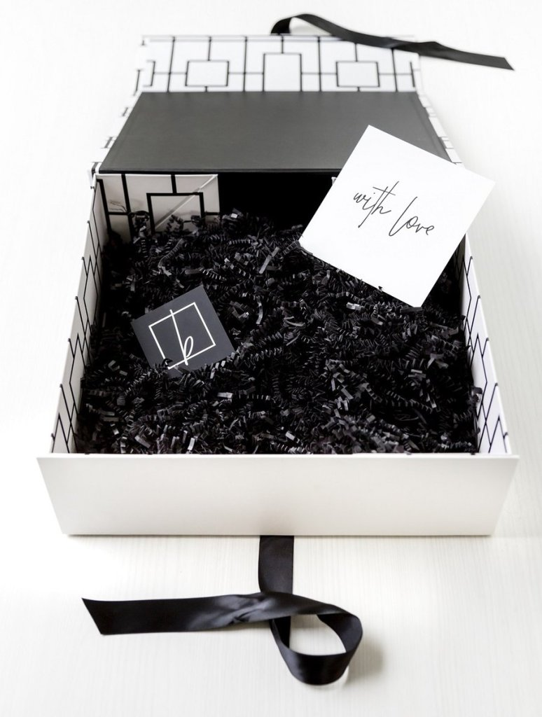 checker me out - blankbox gift box