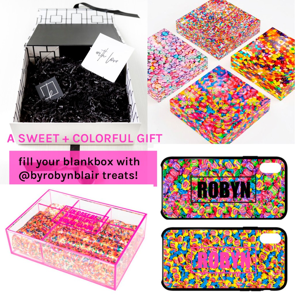 byrobynblair custom gifts blankbox gift ideas