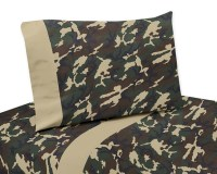 Green Camouflage Sheet Set - Blanket Warehouse