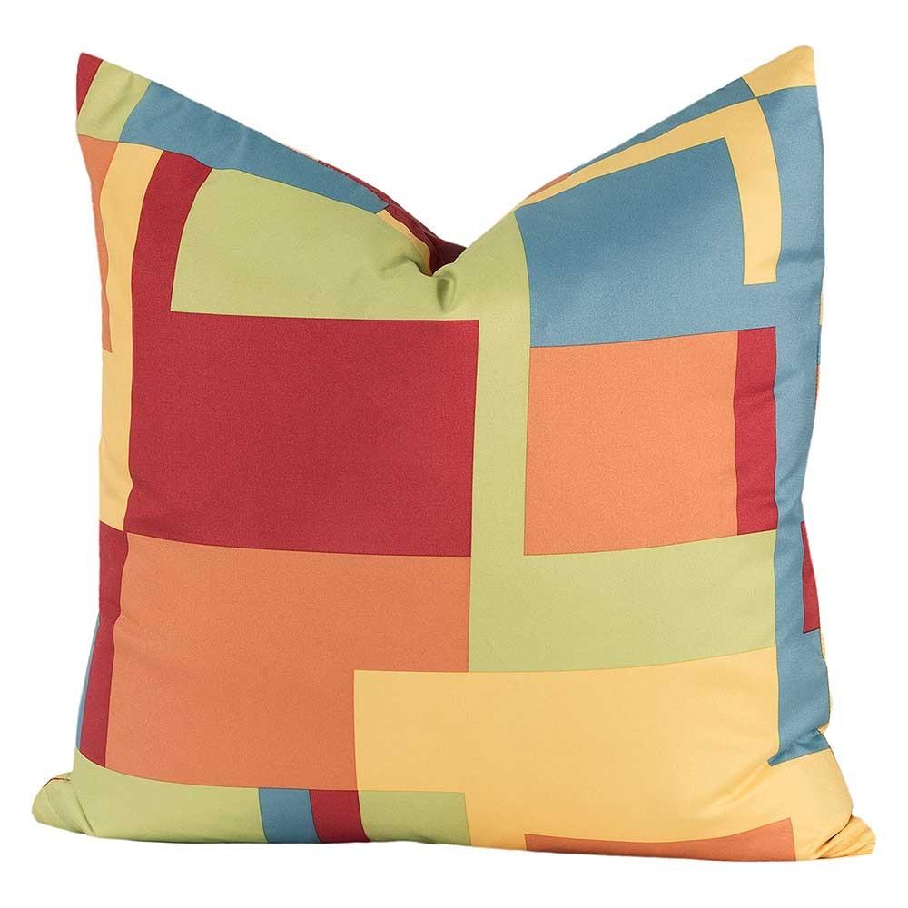Crayola Paint Box Square Pillow  20 X 20 Square  Blanket