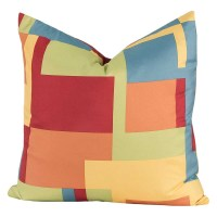 Crayola Paint Box Square Pillow - 26 X 26 Euro Pillow ...