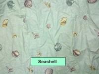 Seashell Print Sheet Set by Mayfield   Made in the USA ...