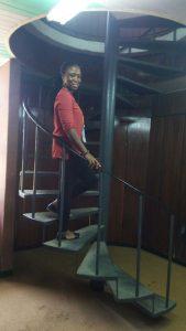 Eneni at YALI RLC West Africa, Accra