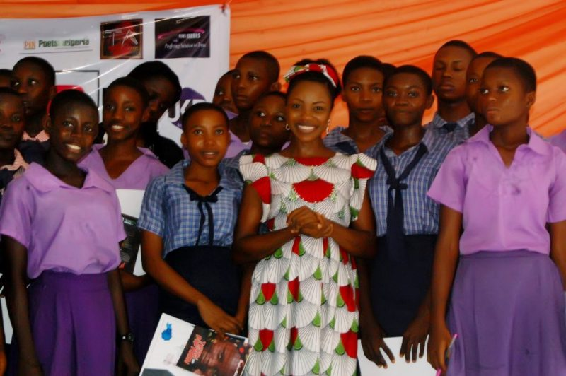Blessing Sam of Teens Issues Africa