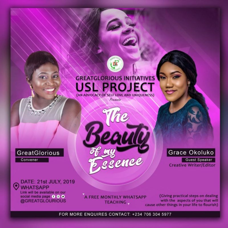 GreatGlorious Wilberforce USL project