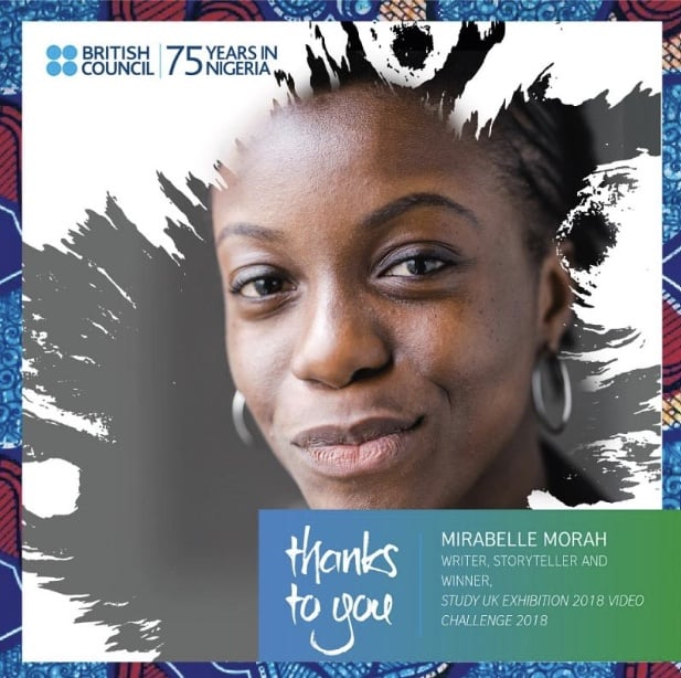 Mirabelle Morah British Council Study UK ambassador BlankPaperz