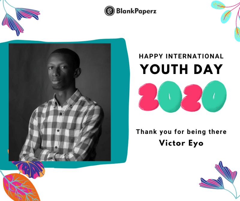 BlankPaperz Media Celebrates Victor Eyo