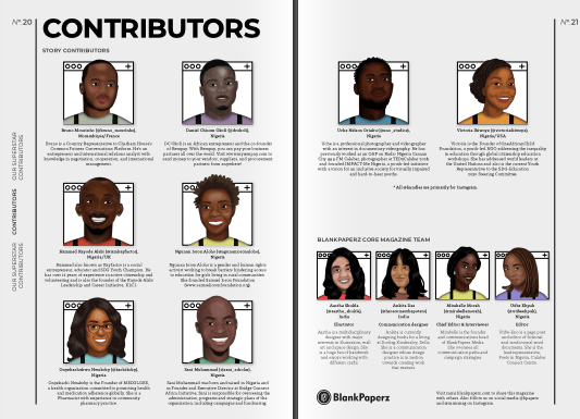Meet Z'axis Magazine's Contributors