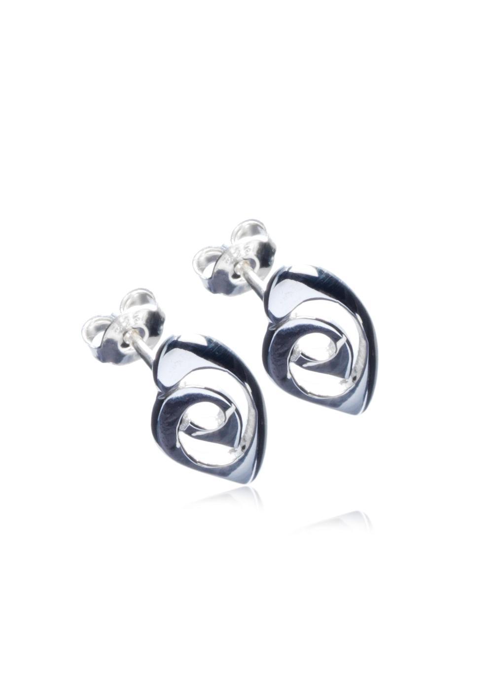 Sterling Silver Celtic Knot Stud Earrings Declan Killen