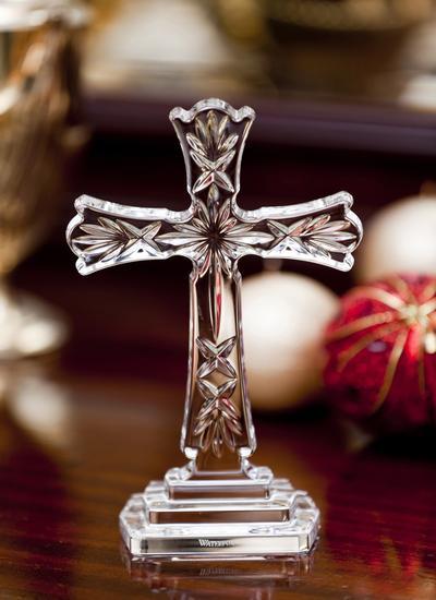 Waterford Crystal  Celtic Standing Cross  Blarney
