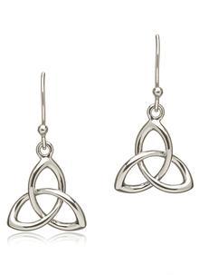 Sterling Silver Troika Earrings presented by Blarney