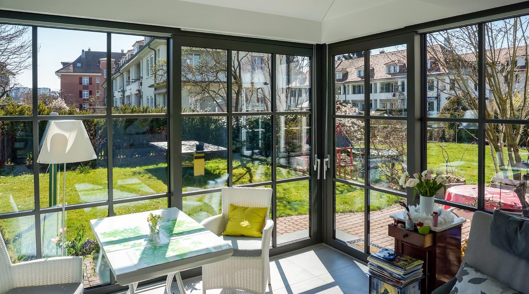 Wintergarten, Wohnwintergarten, Wohnraumerweiterungen, Verglasungen