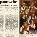 21. Adventskonzert 2006 -Bericht- (Münchner Merkur, 2006)