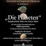 """22. Adventskonzert 2007 """"Die Planeten"""""""