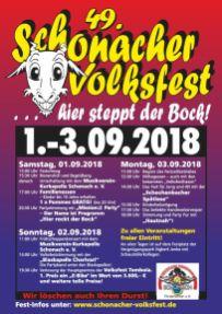 Schonacher Volksfest 2018