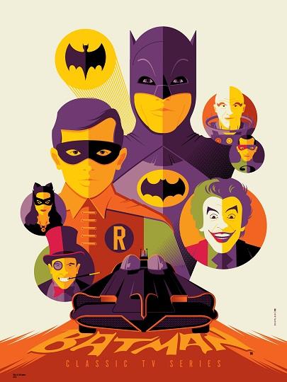 """Batman"" (Variant) by Tom Whalen"