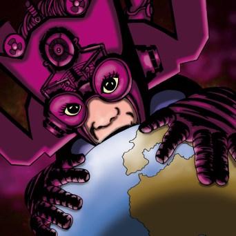 Galactus fan art pour le site Buzzcomics