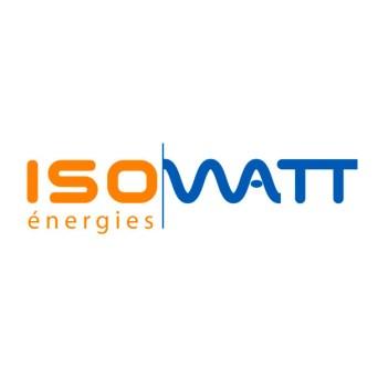 Logo pour une société de fourniture de panneaux photovoltaïque et de chauffage solaire