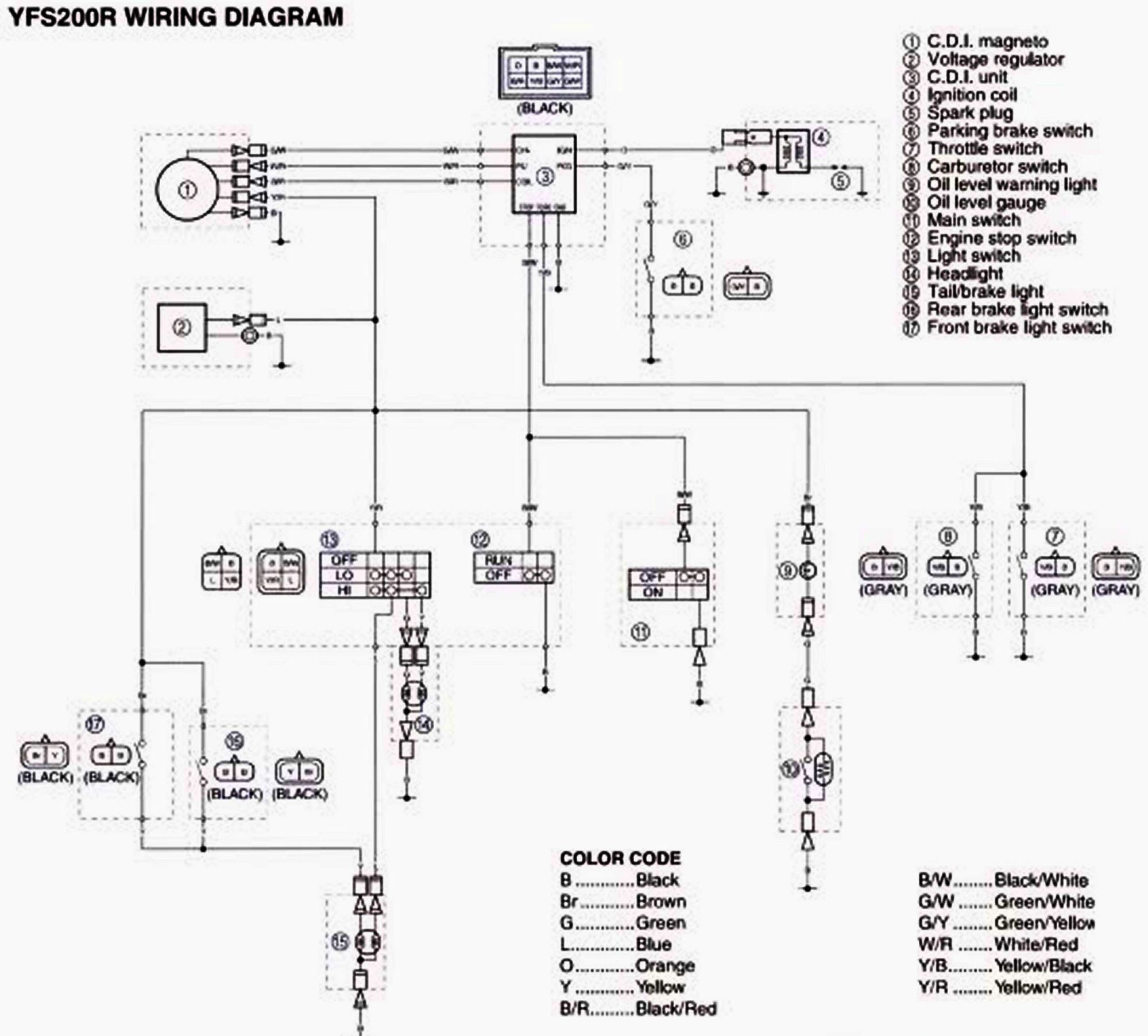 hight resolution of 2002 yamaha kodiak wiring diagram