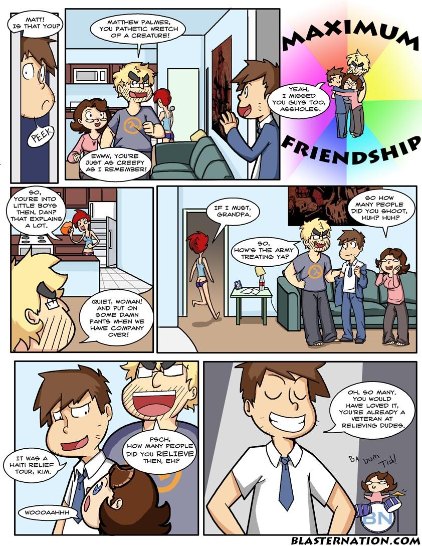 MAXIMUM FRIENDSHIP