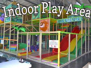 Indoor Play Area at Blasters Family Entartainmant Center Mossel Bay