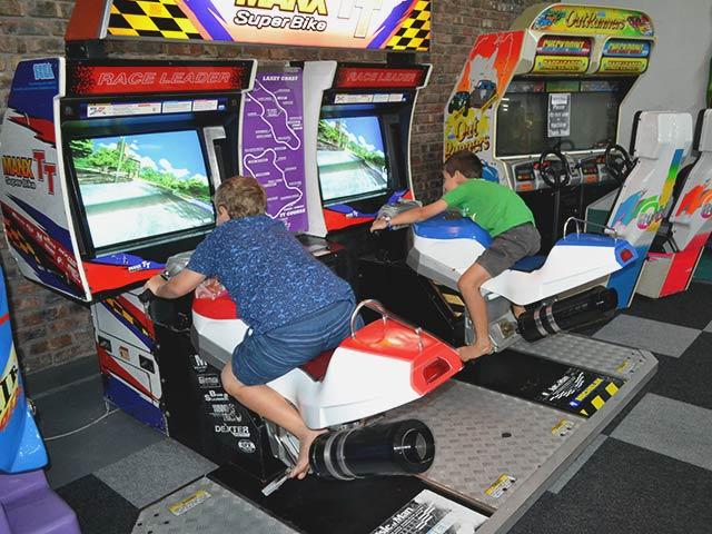 Arcade Games at Blasters Mossel Bay