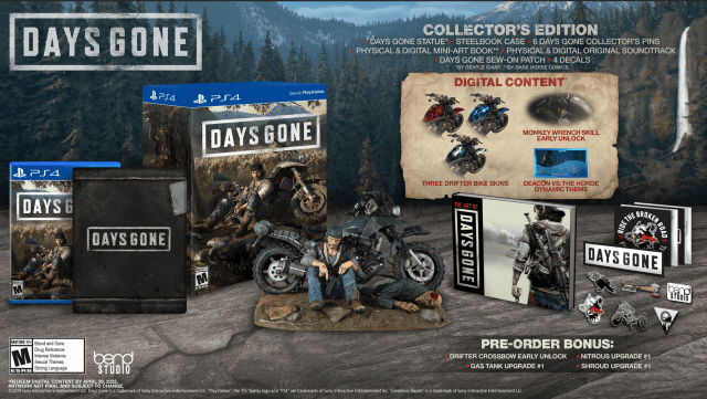 days-gone-collector-edition-pret-romania