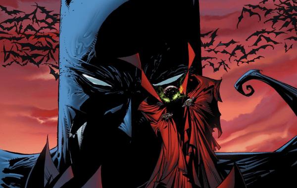 Day Todd Mcfarlane Reveals Spawn Batman Crossover 've Syfy Wire