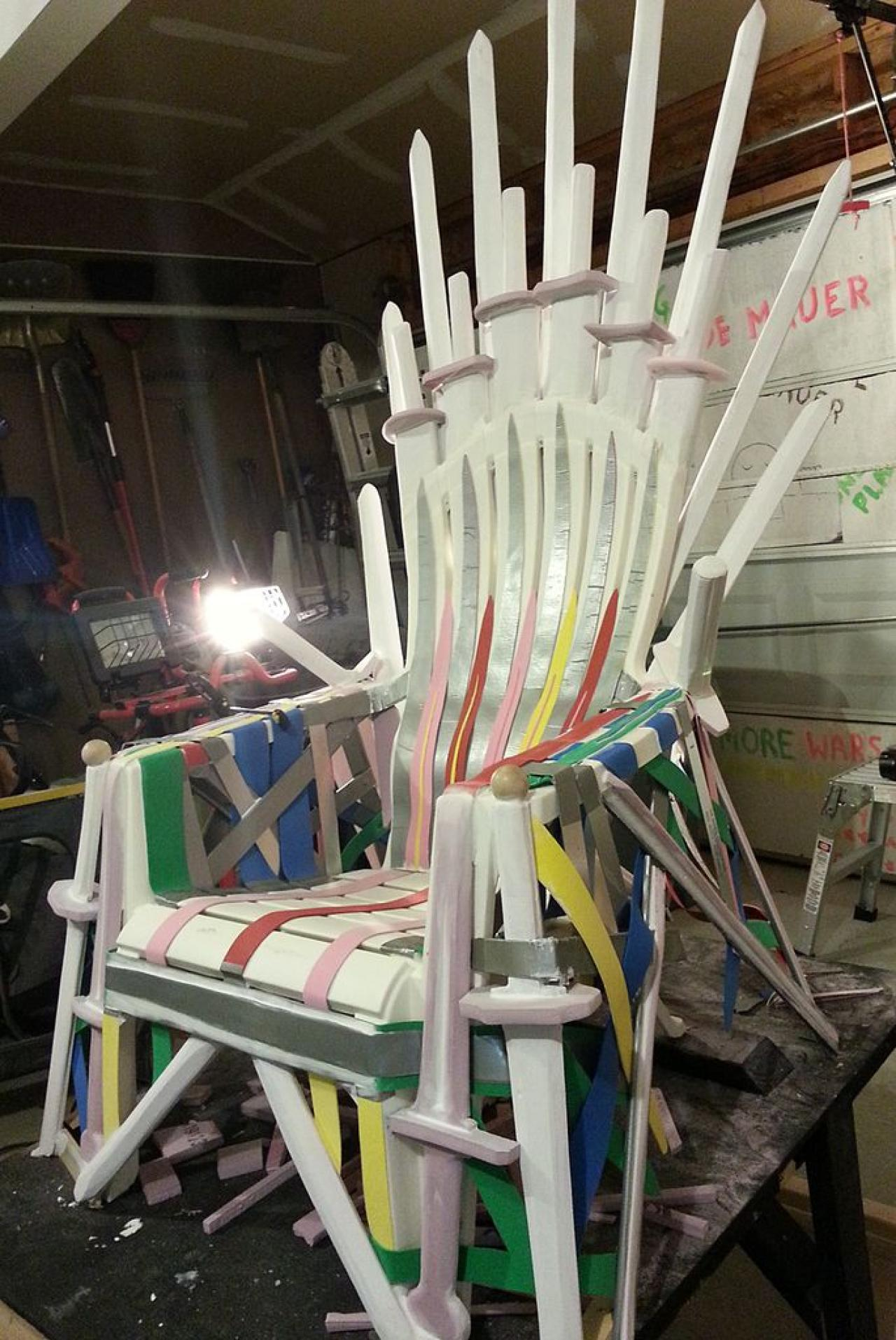 iron throne chair big lots computer follow these 7 easy steps to make your own and