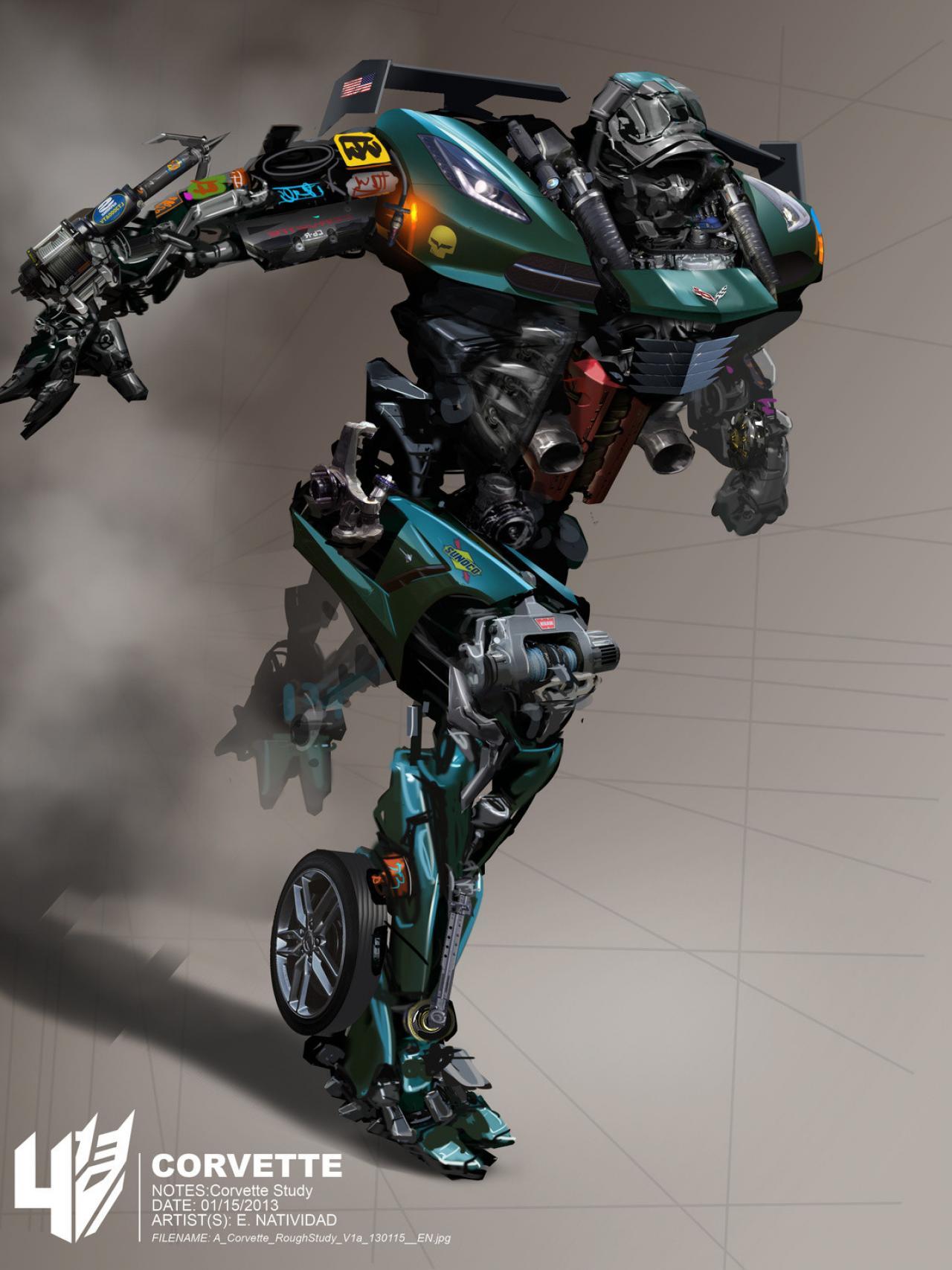 Transformers Drift Concept Art