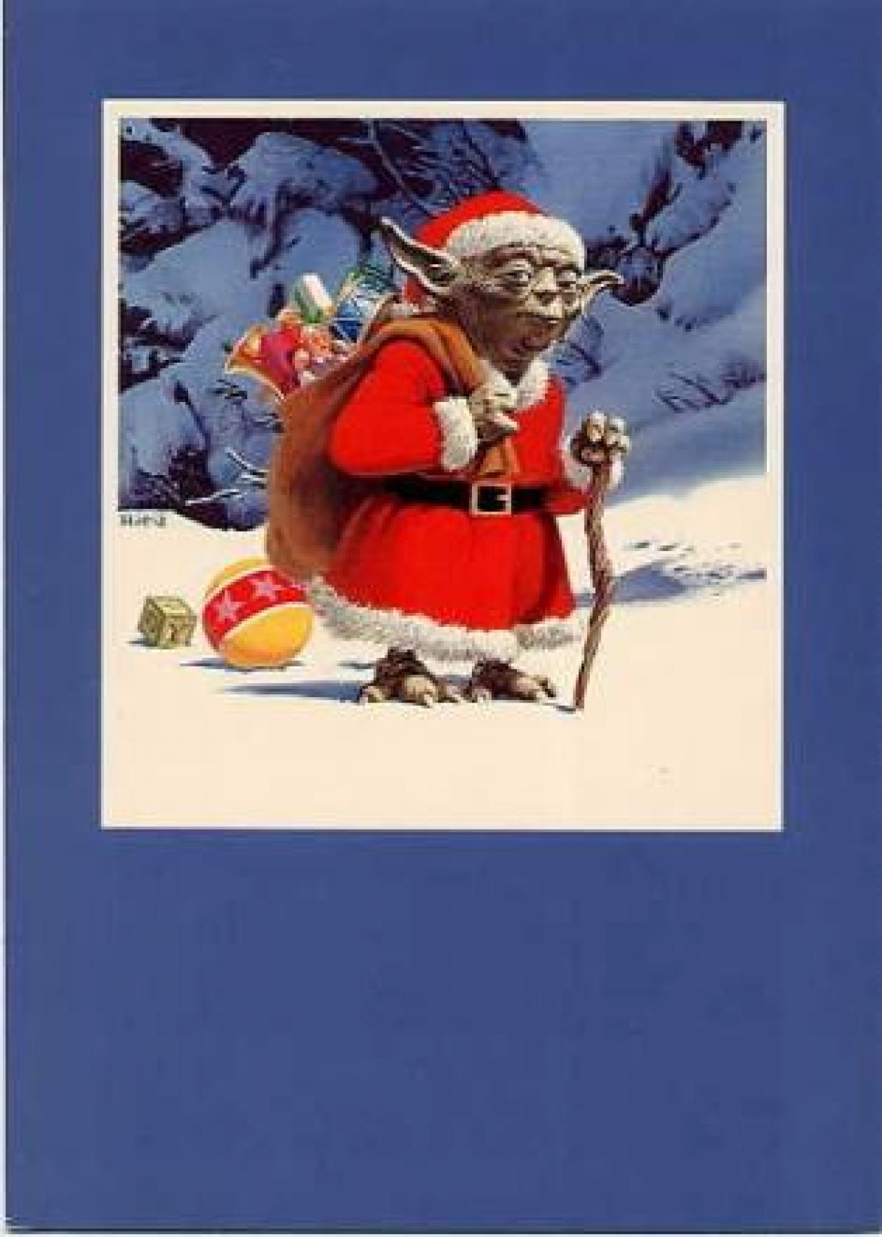 34 Amazing Star Wars Christmas Cards You Wish George Lucas