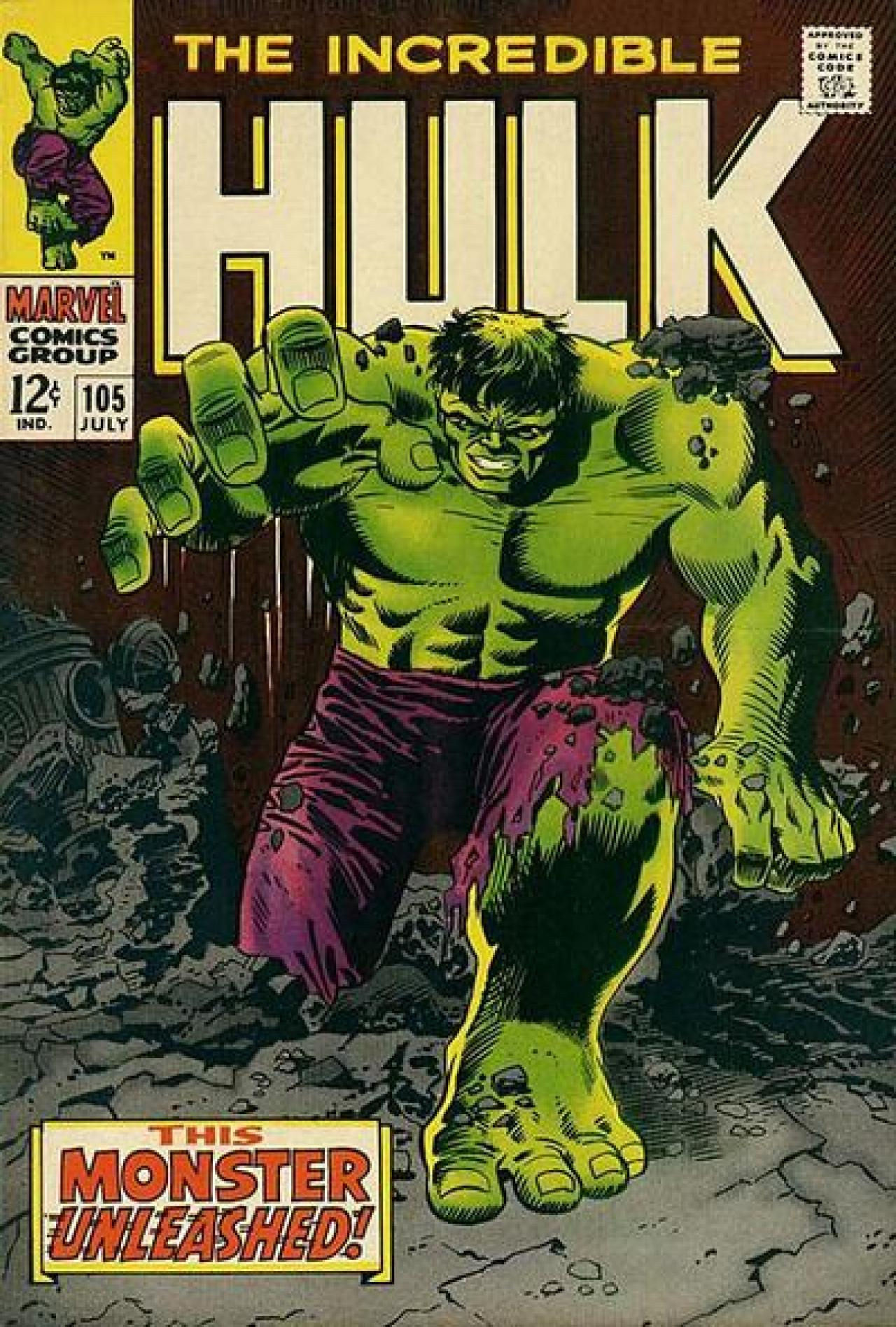 Smashingly Great Covers 50 Years Of Incredible Hulk Comics Syfy Wire