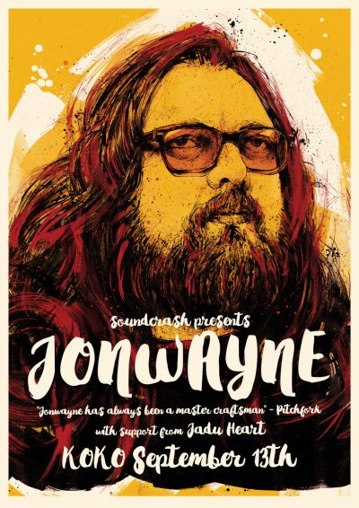 JonWayne london gig flyer